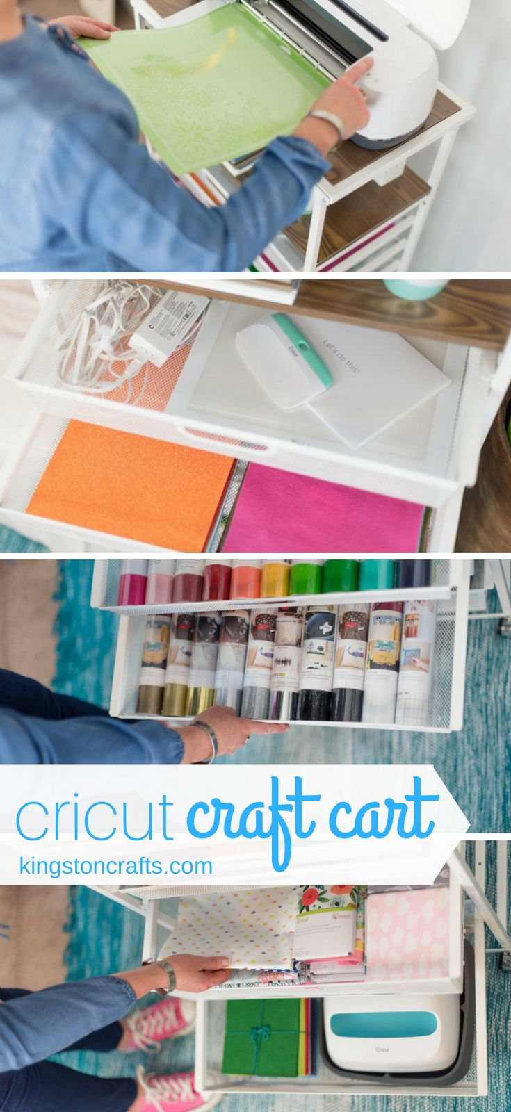 Cricut Craft Cart from Origami images