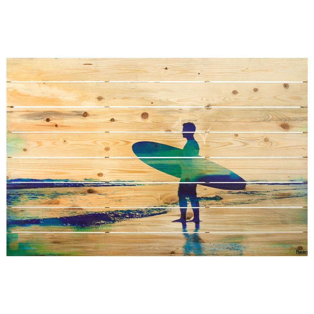 Wood Wall Art - Surfer/Wall Art/Wall Decor|Bouclair.com | Projets ...