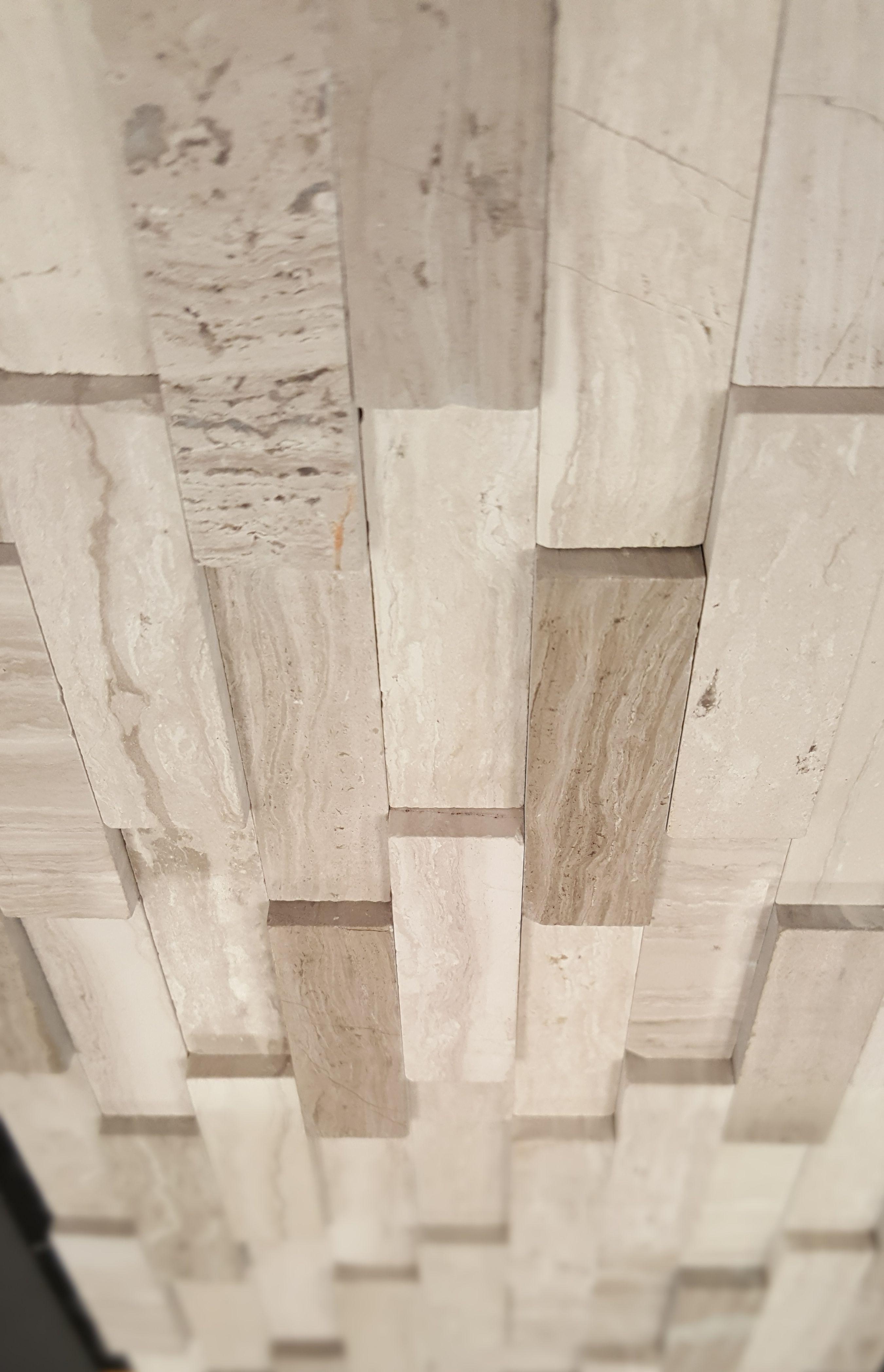 Acme Brick Captivate Line Wooden Grey Multi Height Mosaics Acme Brick Mosaic Madness Mosaic