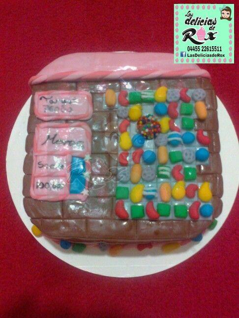 Cake para los amantes del juego Candy Crush.