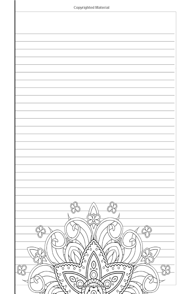 Amazon Com Coloring Journal Black Therapeutic Journal For Writing Journaling And Coloring Journal Writing Paper Printable Free Printable Coloring Sheets