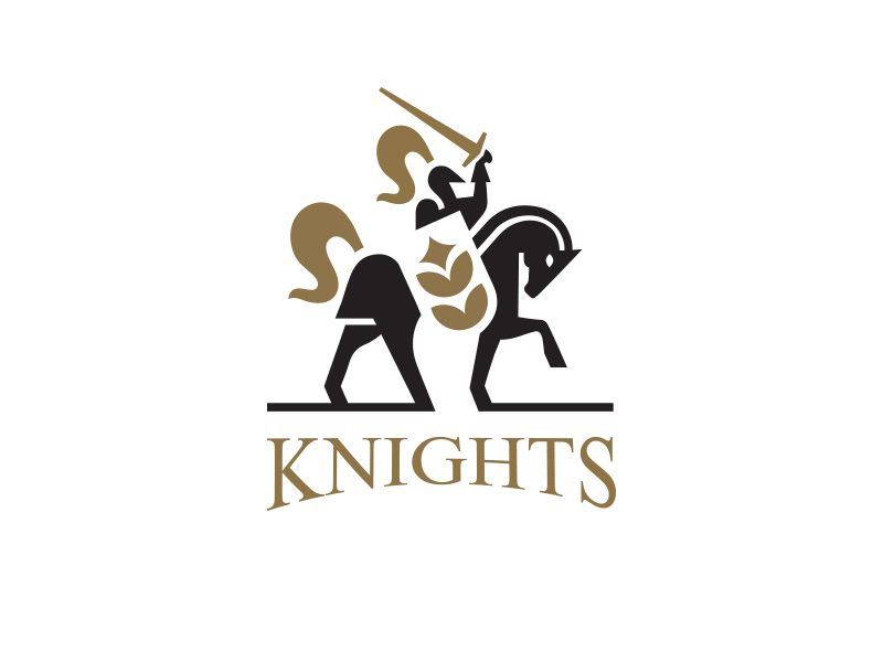 Knights Logo Knight Logo Logo Design Inspiration Logo Design