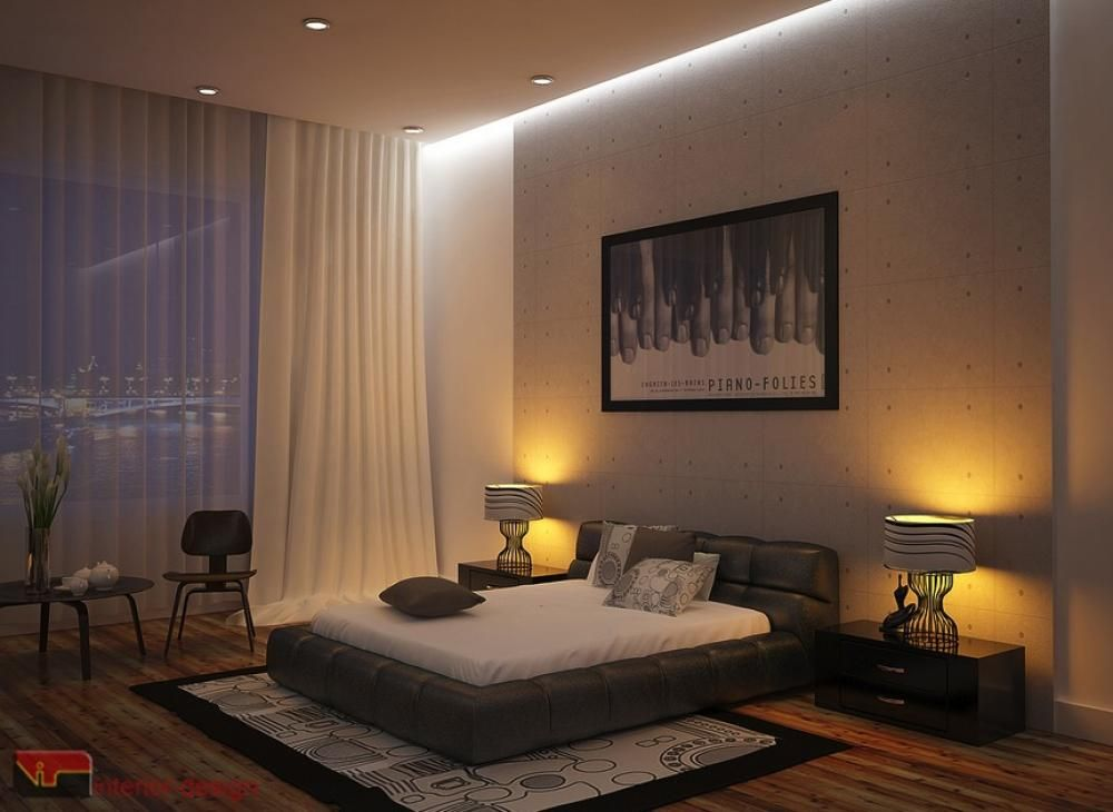 Modern Romantic Bedroom Interior Room Romantic Bedroom Design