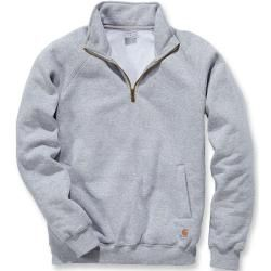 Photo of Carhartt Midweight Quarter Zip Mock Neck Sweatshirt Grau S CarharttCarhartt