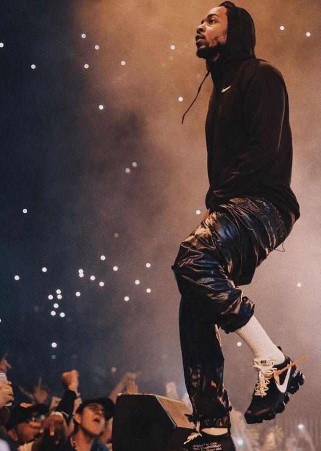 Celebrity Kicks Sightings Kendrick Lamar Rockin The Off White X