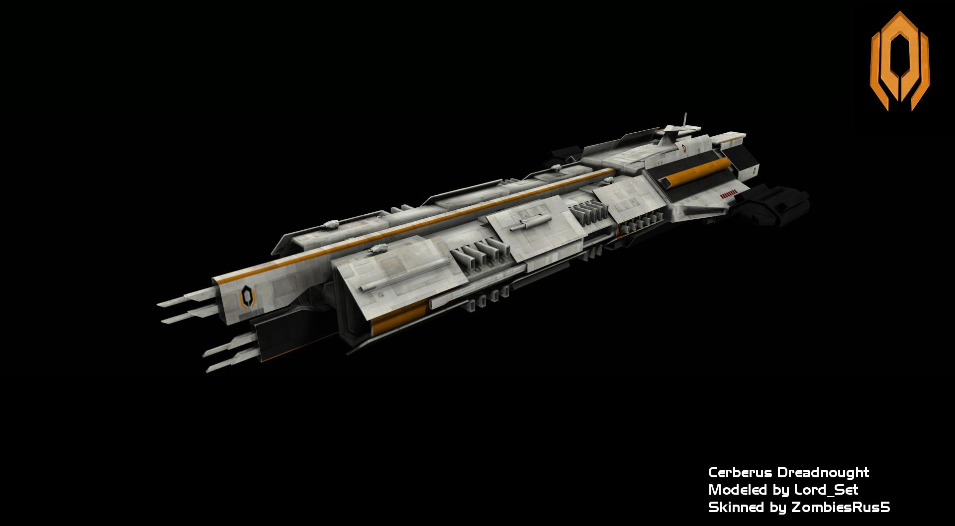 Mass Effect Ships Cerberus Dreadnought Reskinned Image Dawn Of