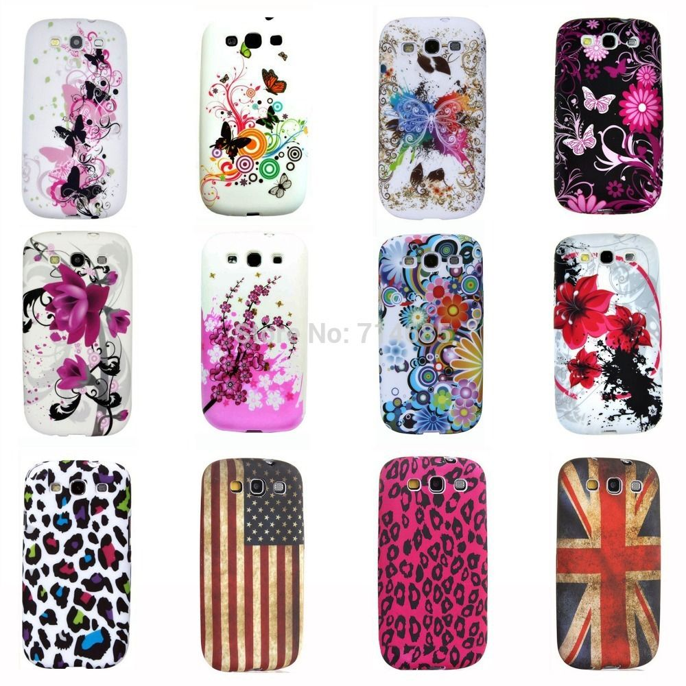 Lcd screen protector guard for samsung galaxy s3 i9300 galaxy s iii - Eiffel Circle Butterfly Polka Dots Owl Flag Tpu Silicon Phone Case For Samsung Galaxy S3 Neo I9301 Galaxy S3 I9300 Back Cover Click On The