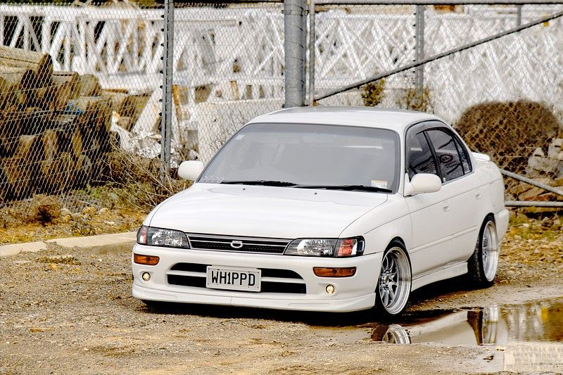 My 93' Corolla From New Zealand (AE100 JDM) Toyota