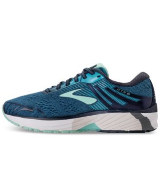 a0e3c3a47b3 Brooks Women s Adrenaline Gts 18 Wide Width Running Sneakers from Finish  Line - Blue 8W