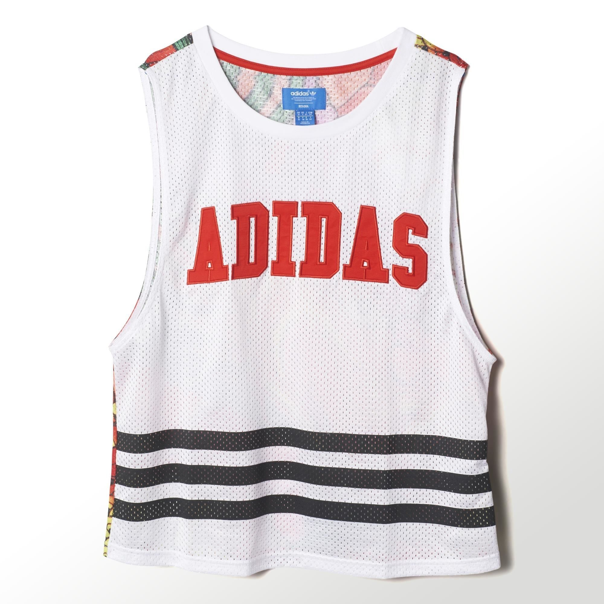 Adidas drago impronta canottiera rita ora pinterest stampato tank