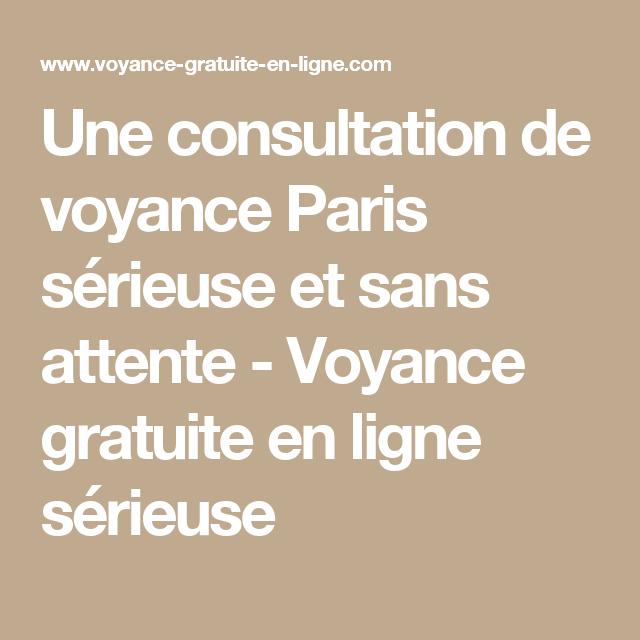 Une consultation de voyance Paris sérieuse et sans attente - Voyance  gratuite en ligne sérieuse Paris 5d1f70008feb