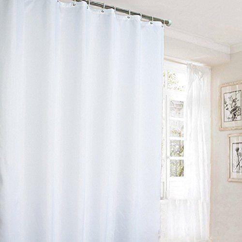 Ufaitheart 78 X 84 Inch Long Shower Curtain Extra Long Fabric