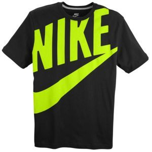769ac59c Nike Exploded Futura S/S T-Shirt - Men's - Black/Volt | Clothes ...
