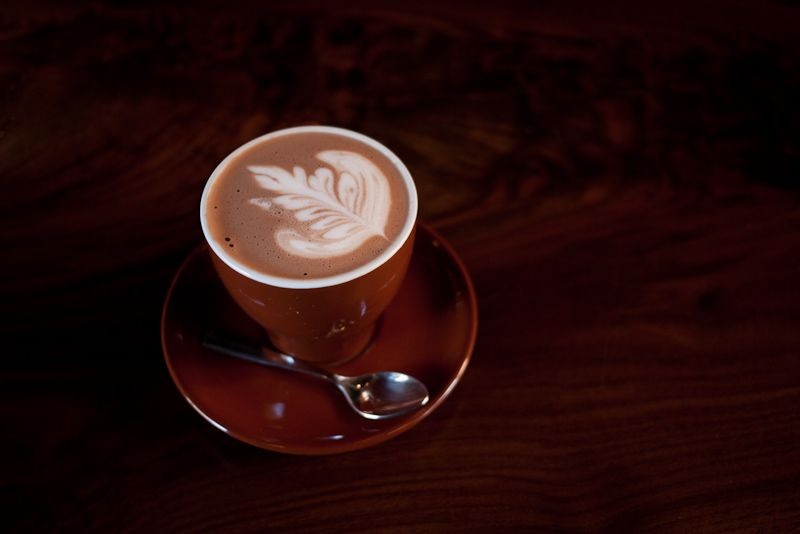 Ma'velous for a macchiatto. Check for hours & opening time before you go, unusual hours for a cafe.