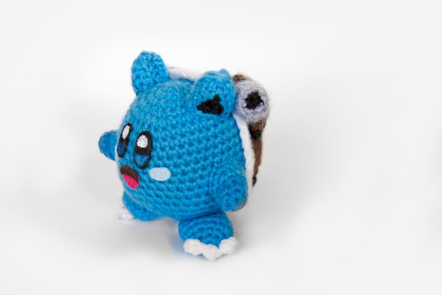 Crochet Blastoise Kirby Amigurumi **Made to order
