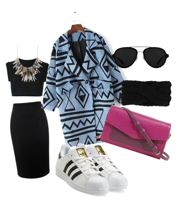 """""""Blue&black"""" by aitaolam on Polyvore featuring adidas Originals, Alexander McQueen, Vera Bradley, 3.1 Phillip Lim, women's clothing, women's fashion, women, female, woman and misses"""
