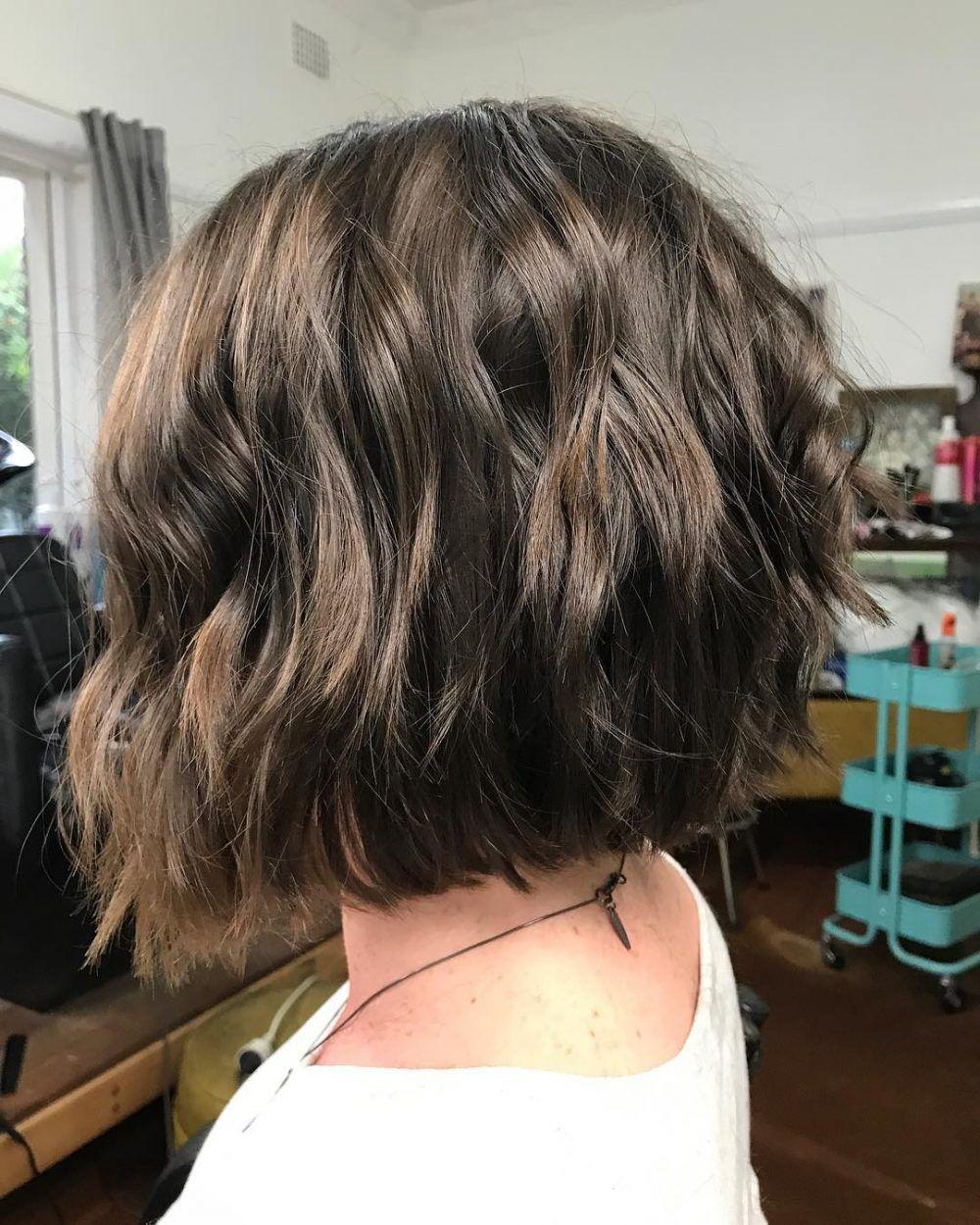 46 chic choppy bob hairstyles   hairstyles   blunt bob