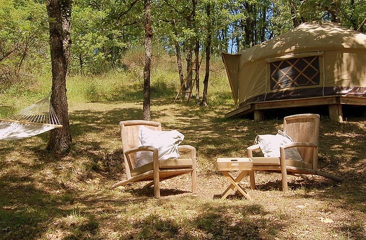 Кемпинг во Франции   Luxury camping tents, Camping in ...