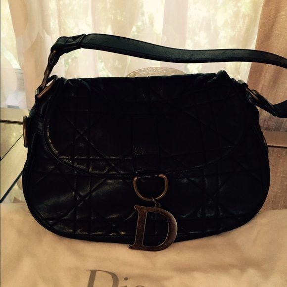Christian Dior handbag Christian Dior black quilted handbag. Christian dior Bags