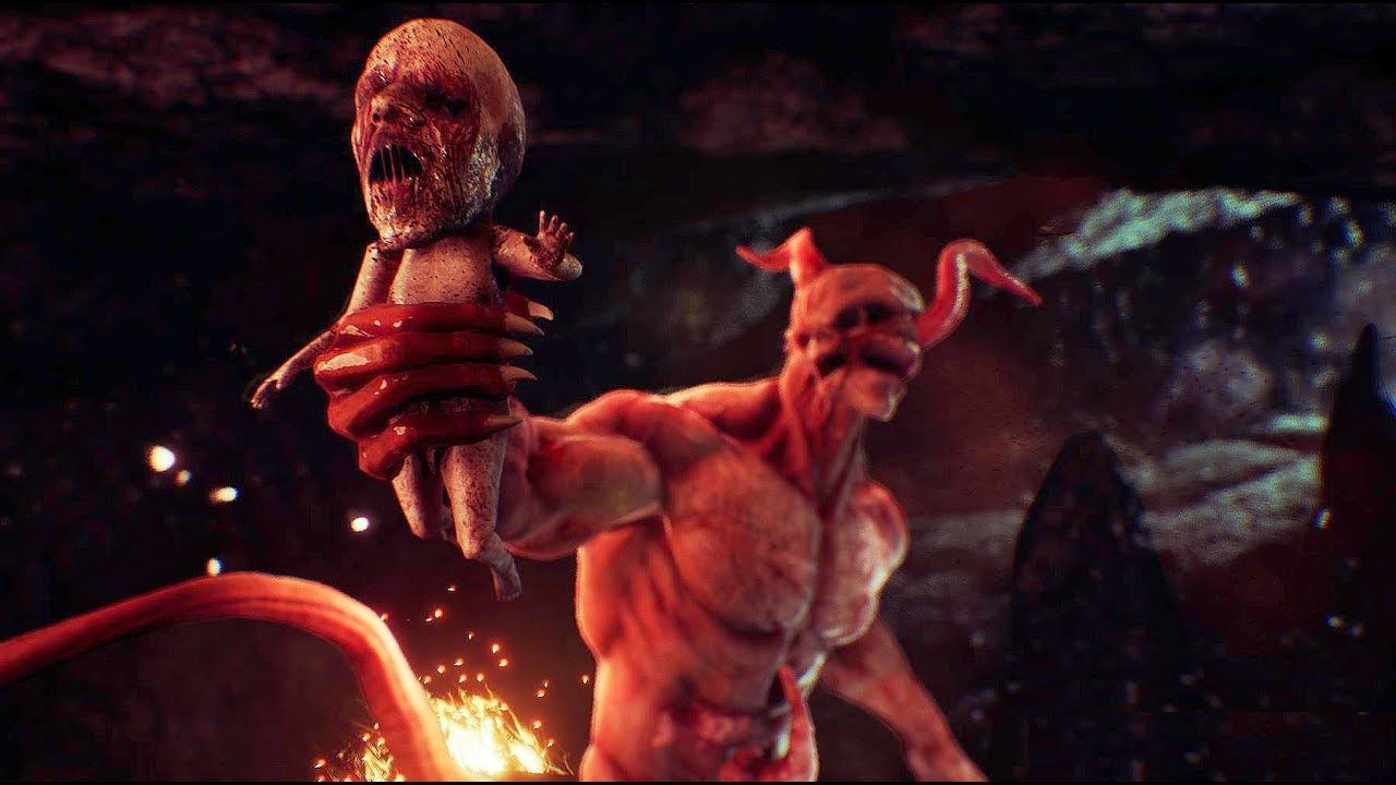 AGONY - ''Floating Forest'' Gameplay Demo (Horror Game 2017)