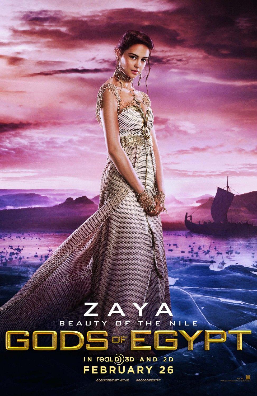 Gods Of Egypt Courtney Eaton As Zaya Movies Tv Gods Of Egypt