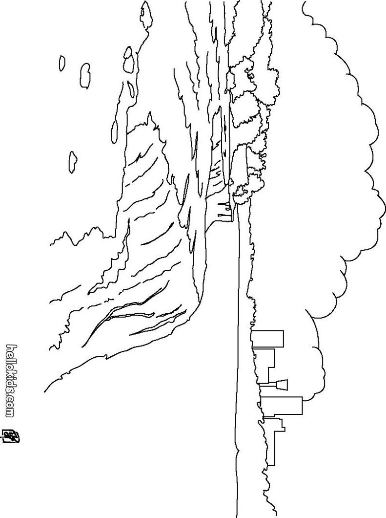 Niagara Falls coloring page | - coloring pages - | Pinterest