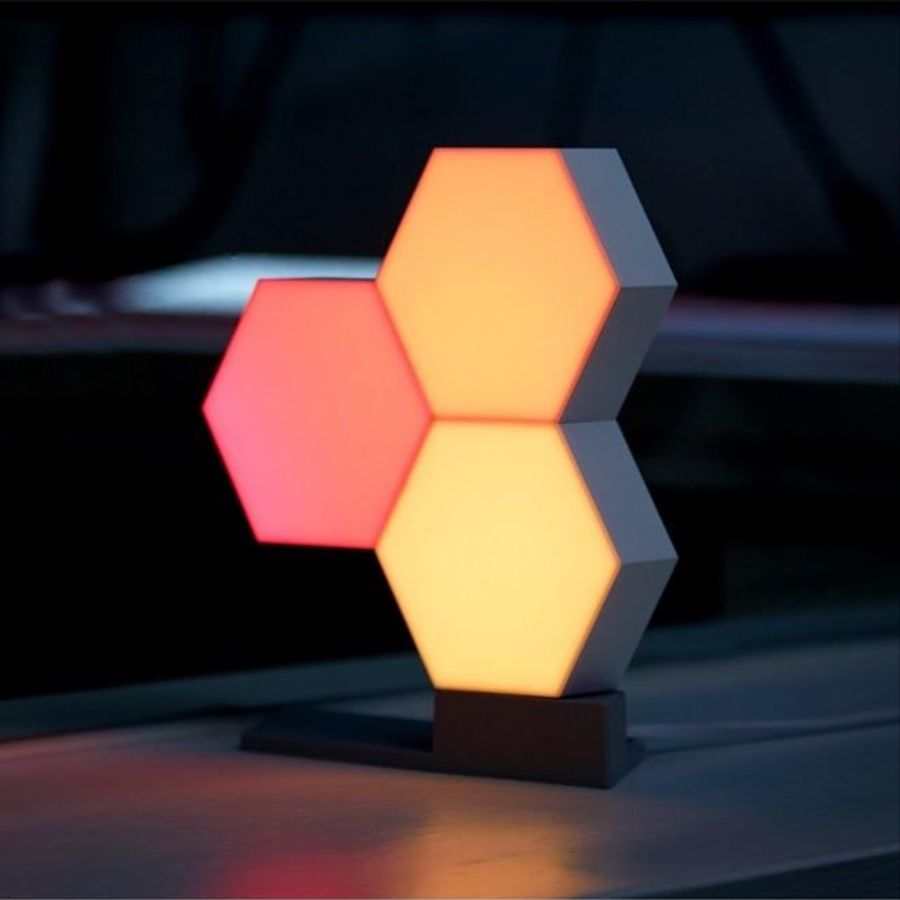 Hexalamp In 2020 Led Night Light Lights Geometry