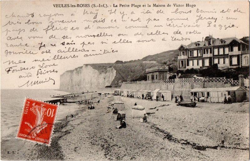 Legende De La Carte Veules Les Roses Seine Inf La Petite