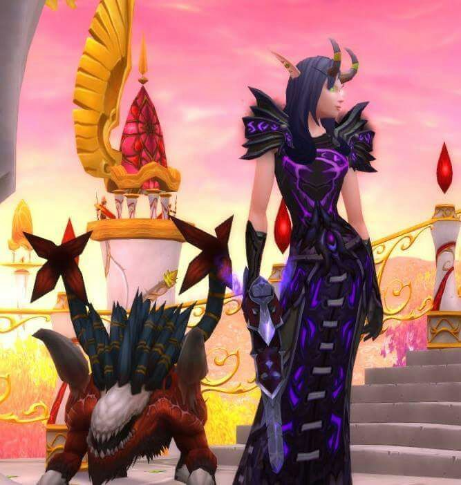 Epic Purple Warlock Transmog Wow Amino Wow Trangsmogs World Of