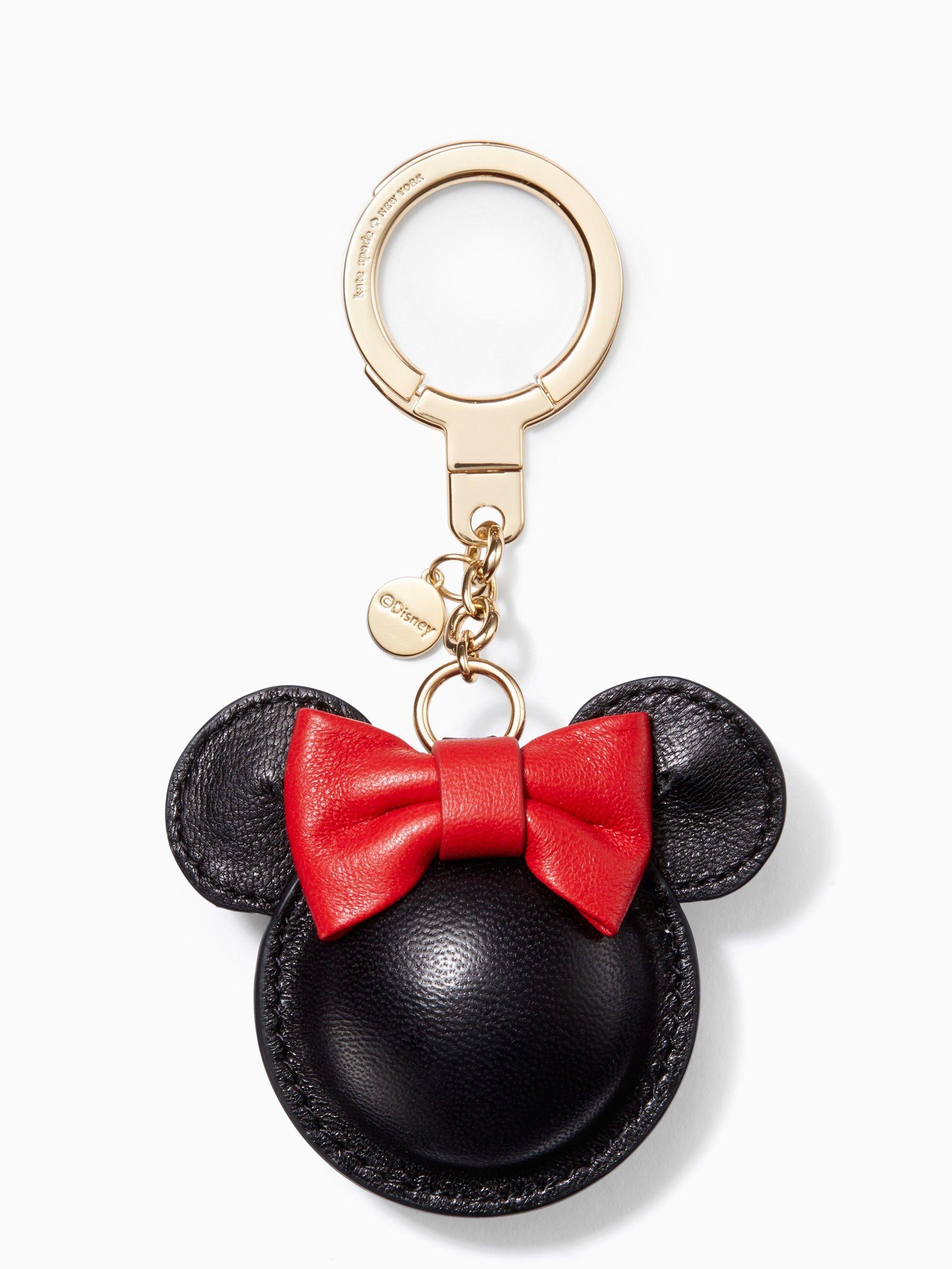 KATE SPADE kate spade new york for minnie mouse minnie keychain.  katespade    46a6151fa