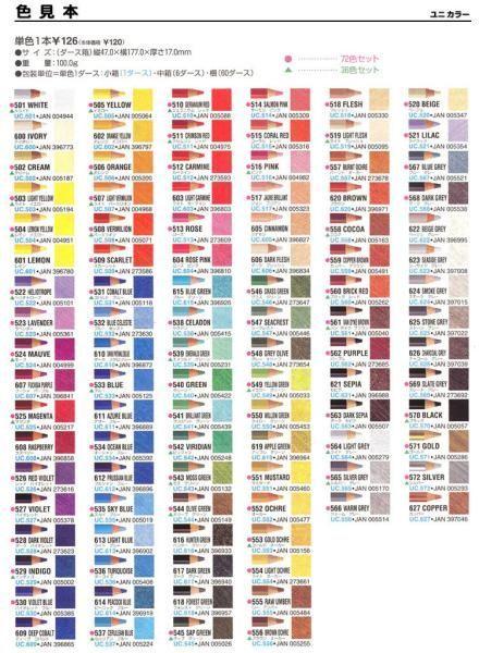 Prismacolor 36 Color Pencil Set No Sa92885 Color Chart Color