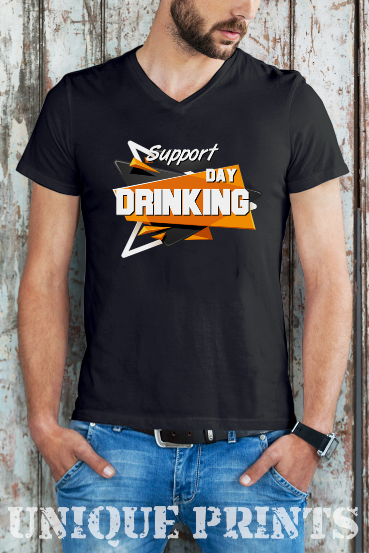 2c2e6707 Funny gift Support day drinking | #tshirt #drinking #party #funnytshirt Funny  tshirts | funny tshirts for women | funny tshirts sayings | funny tshirts  for ...