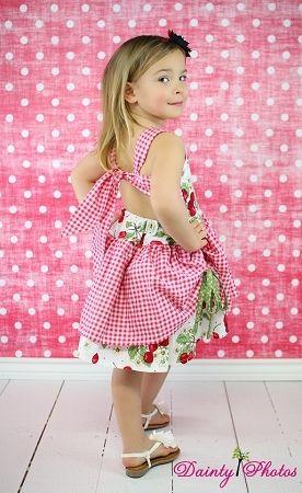 Poppy\'s Girls Boutique Peekaboo Dress PDF Pattern | Niñas pequeñas ...