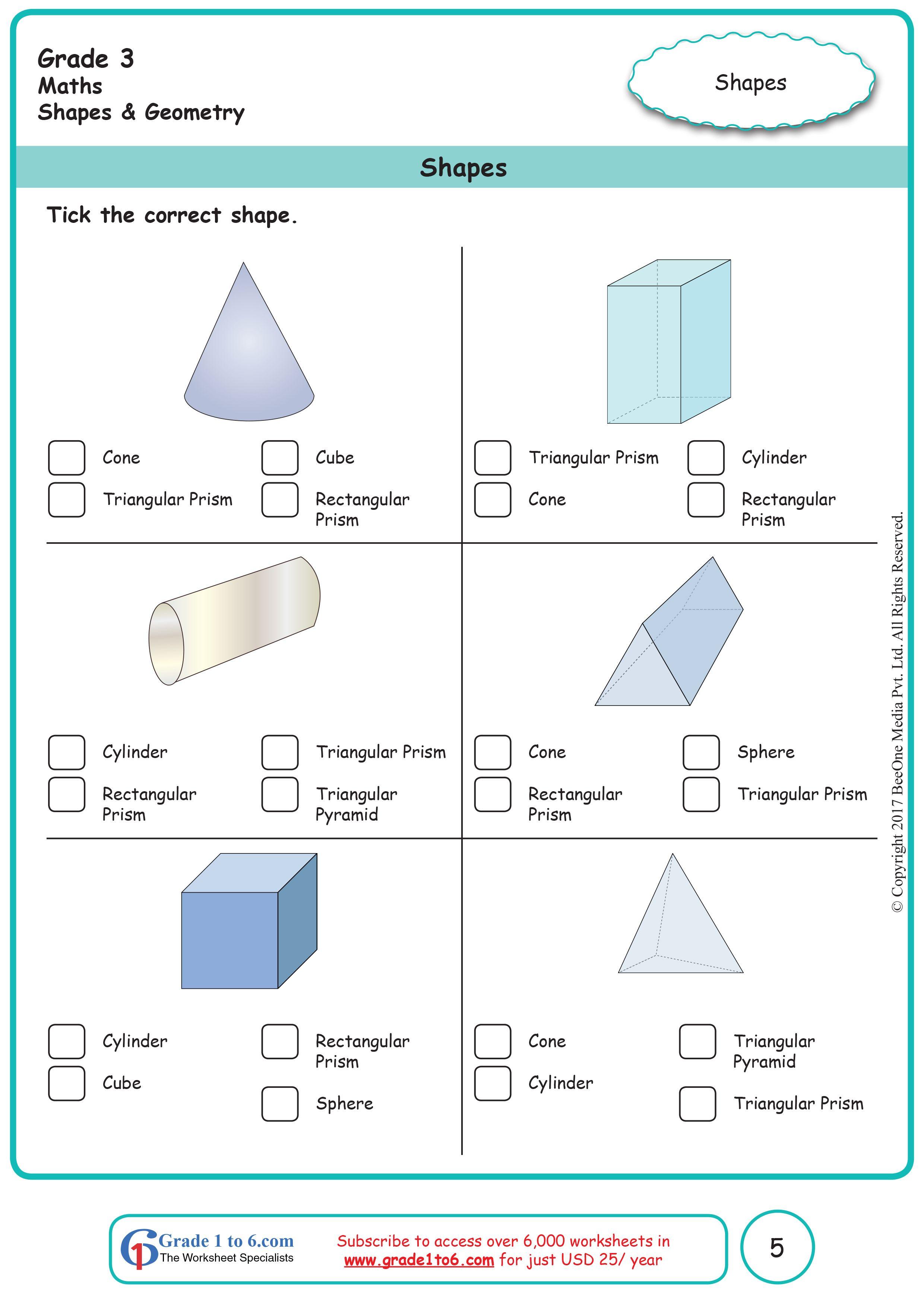 medium resolution of Shapes
