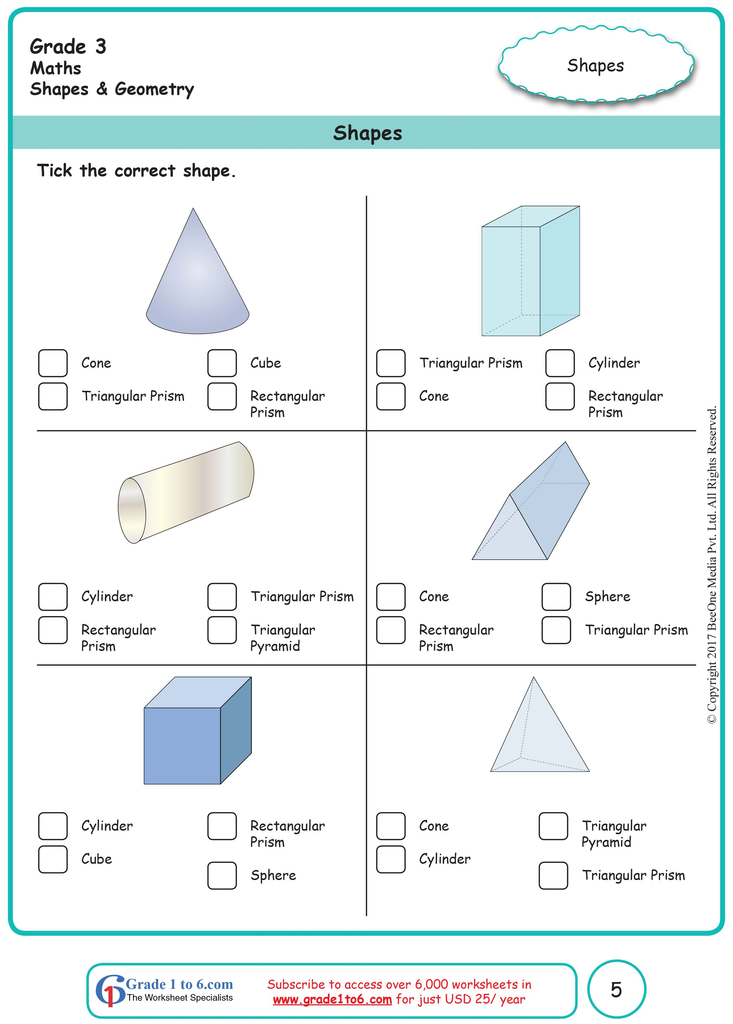 Shapes [ 3464 x 2480 Pixel ]