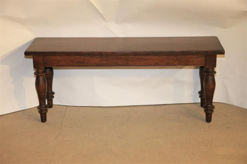 Amish Kingston Backless Bench - Keystone Collection