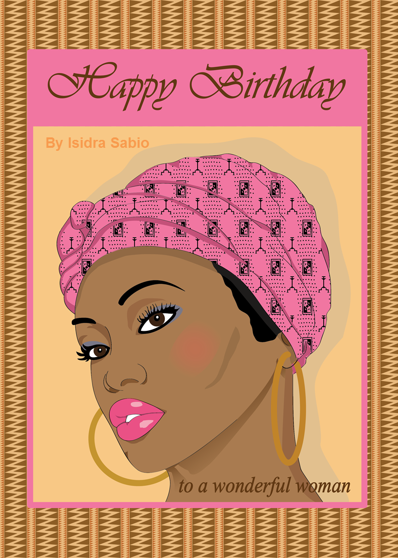 Birthday card for women to a wonderful woman beautiful african birthday card for women to a wonderful woman beautiful african american black bookmarktalkfo Image collections