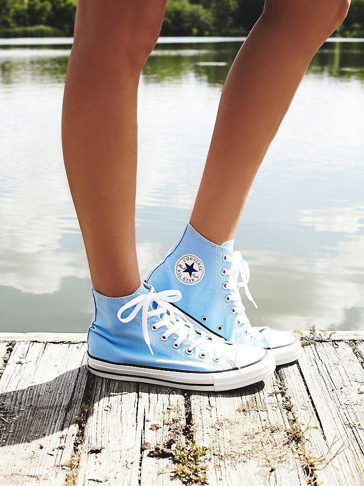 Cute converse, Blue converse, Sneakers