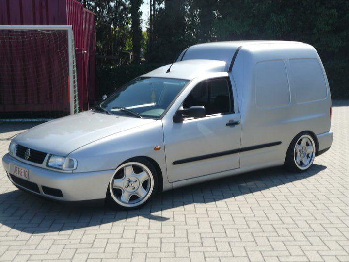Vw Caddy Mk2 On Schmidt Modern Line Wheels Caddy Caddy