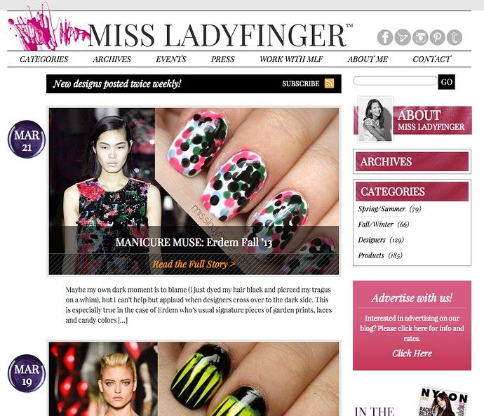 15 Best Nail Art Blogs On The Internet Nail Art Blog And Cosmetics