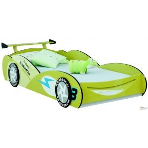 Race Car Bed Design I In Green