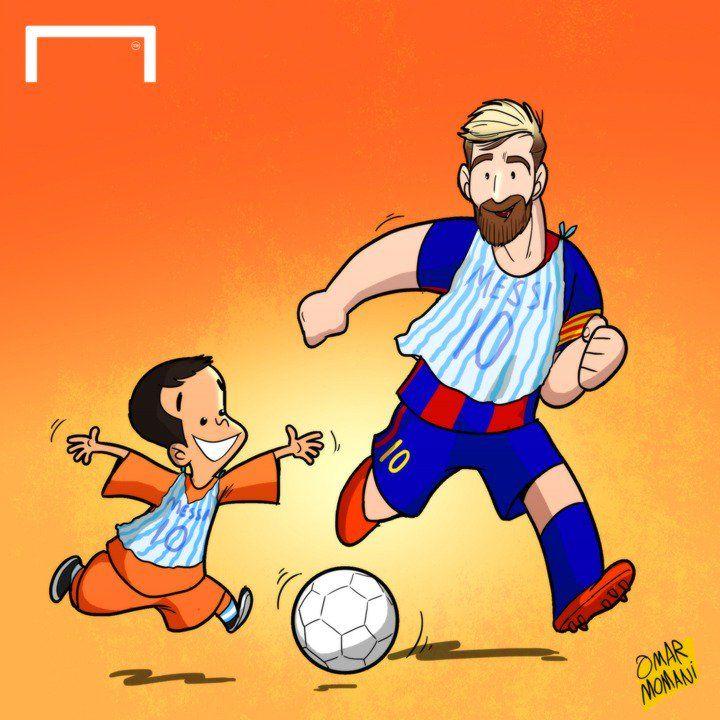 Карикатура футболистов фк бавария