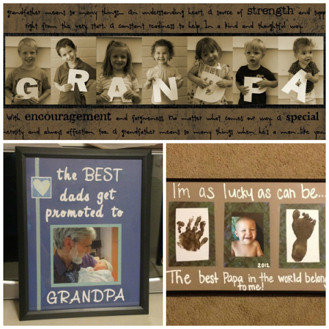 Grandpa gift for grandparents fathers day fathers day pinterest here are a list of fun grandparents day gifts for kids to make you will find diy gifts just for grandma and grandpa as well solutioingenieria Image collections