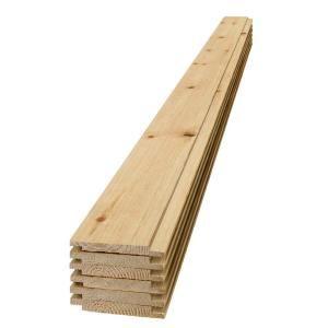 Ufp Edge 1 In X 8 In X 6 Ft Barn Wood Shiplap Pine Board 6 Pack 350760 The Home Depot In 2020 Barn Wood Shiplap Wood