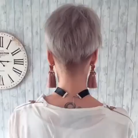 Latest Short Hairstyles Fall for Fall 2019 #shortpixie