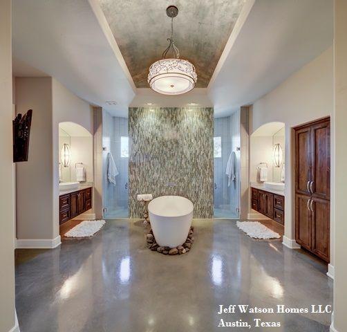 Jeff Watson Homes Custom Built Master Bath With Free
