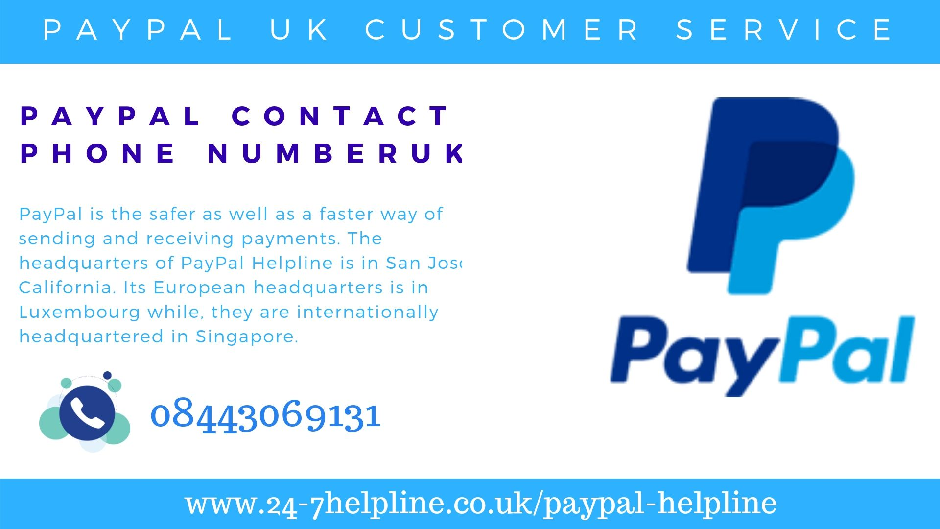 Paypal Customer Service Uk Provides Secure Payment Services For Small And Large Businesses Dial 0844 306 9131 For Answers To All Paypal Customer Service Phone