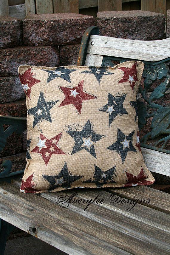 Matching Pillows For Your Patio Deck Or Front Porch These Burlap Beauteous Burlap Star Decorative Pillow