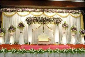 Famous Christian Wedding Stage Decoration 6 Wedding Hall