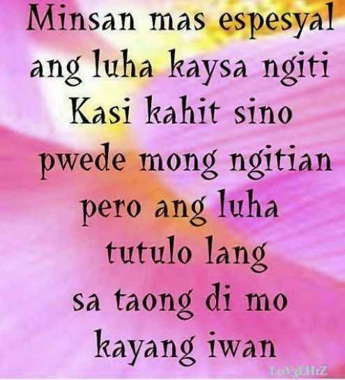19 Beautiful Tagalog Love Quotes with Images | Tagalog, Quotes ...